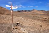 Rusty signpost