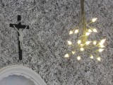 Enlighted Snowy Cross