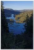 Twin Lakes Overlook at Sunset, Mammoth Lakes, California