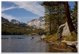 At Shadow Lake, Ansel Adams Wilderness