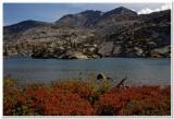 Fall Colors, Fontanillis Lake, Desolation Wilderness