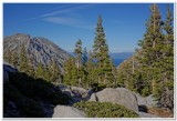 View of Lake Tahoe from Desolation Wilderness