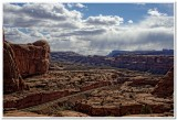 View of Railroad Tracks from Corona Arch