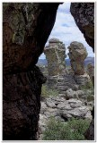 Punch and Judy, Heart of Rocks Trail, Chirichahua National Monument
