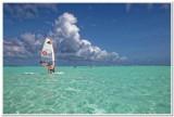 Lac Bay windsurfing