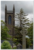Celtic High Cross and Drumcliff Church, Ennis, Ireland