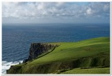 Sheep Pastures atop the Cliffs of Moher, Ireland