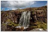 Waterfall at Conor Pass, Ireland