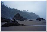 Ecola Point, Morning Fog