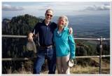 Debbie and Rick on Saddle Mountain