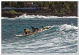 Surf squatch launching, Makaha