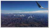 Flying in over the Andes 2