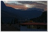 Sacred Valley sunset