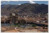 Plaza de Armas from above Cusco