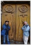 A door in Cusco
