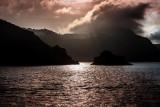 Santorini at sunrise