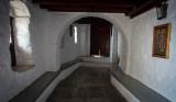 Inside Hozoviotissa Monatery