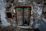 Interesting door on way up hill