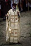 Priest at Meskel Festival