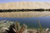 Lake Gaberoun one of the Dawada Lakes at Idhan Ubari