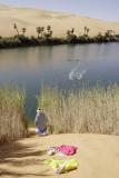 Lake Mandara, one of the Dawada Lakes at Idhan Ubari