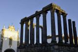 Roman Diana Temple, Évora, Portugal