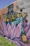 Índia Avenue, Lusíadas graffiti