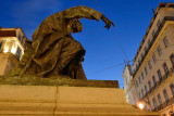 Chiado, António Ribeiro Statue known as Chiado Poet