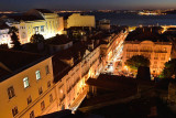 View from the roof bar of Bairro Alto Hotel