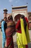Agra, Taj Mahal entrance