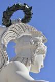 Augusta Street Arch Statuary
