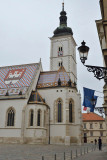 Zagreb, St Mark's Church