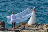 Wedding photo session at Cape Kamenjak