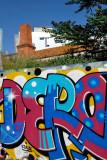Lavra Sidewalk graffiti
