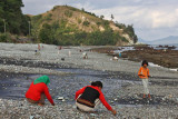 Blue Stone Beach, Flores Island, Indonesia