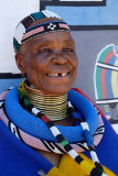 Kghobwana Cultural Village, the Ndbele Artist Esther Mahlangu