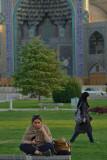 Esfahan, at Nasqh-e Jahan Square