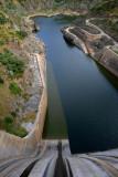 Dam near Miranda do Douro, Portugal