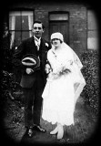Florence Wright and granddad Edgar Clarke