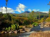 Pico Duarte desde Las Lagunas en Azua y Valle Del Tetero