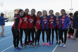 Stuyvesant High School Track Hornet Relays Icahn Stadium 2016-03-26