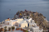 Oia: all crazy for sunset