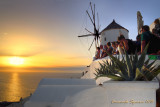 Oia: waiting for sunset