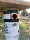 Chickadee hole reducer