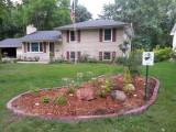 Front corner yard