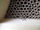 Native bee nesting shelter