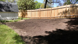 650 sq ft of useless lawn gone!