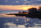 Chequamegon Bay Sunrise 1787
