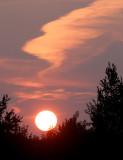Smoky Sunset 618
