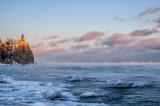 Split Rock Lighthouse at sunset 2